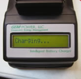Firest Responders' DC-DC Charger LCD Display